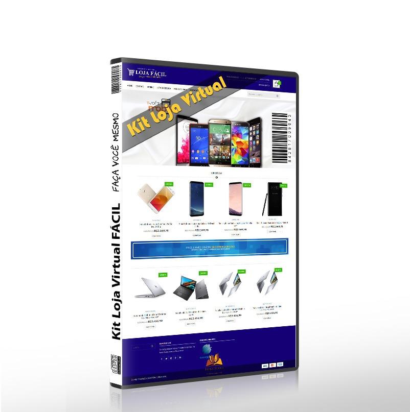 5bd216aa52 Kit Loja Virtual Faça Você Mesmo Passo A Passo C  Videoaulas - R  44 ...
