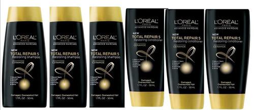 kit l'óreal paris - 3 shampoo + 3 condicionador