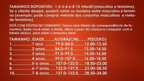 kit lote roupa infantil 7 conjunto feminino tam 1-2-3-4-6