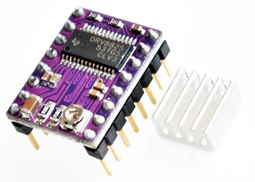 kit lote x4 unid pololu drv8825 impresora 3d ramps cnc prusa