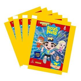 Kit Luccas Neto - 12 Envelopes (48 Figurinhas + 12 Cards)