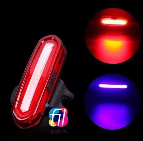 kit luces bici lámpara táctica frontal + trasera ultrabrillo