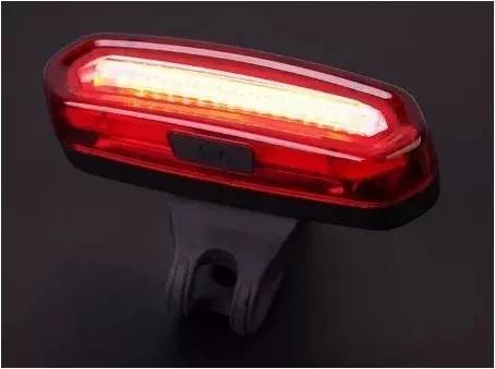 kit luces bicicleta frontal 5000 lumenes + trasera 120 lumen