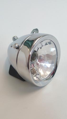 kit luces con dinamo para bicicleta tipo retro 12volt 6watts
