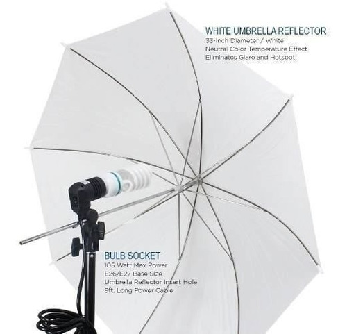 kit luces estudio de fotografía limostudio lms103 600 w