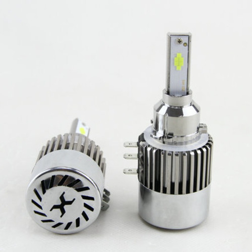 kit  luces led auto cob no cree no xenon h4 h7 hb4 h16 5202