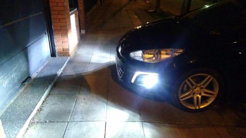 kit luces led cree h7 o h1 citroen c4 16.000 lumenes promo