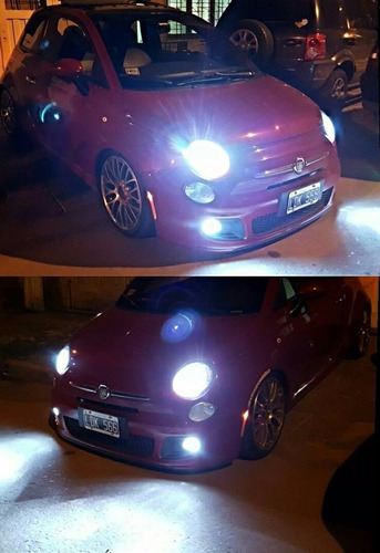 kit luces led cree h7 volkswagen golf 16.000 lumenes promo
