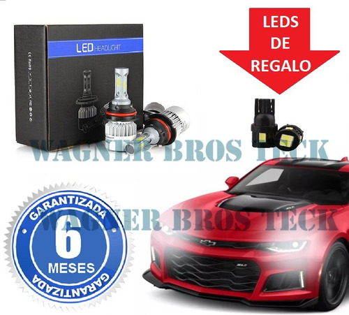 kit luces led cree peugeot 205 405 504 505 16.000 lms promo