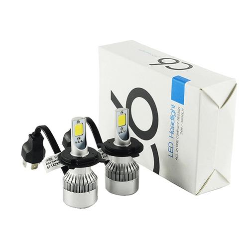 kit luces led cree peugeot 205 405 504 505 16.000 lumens