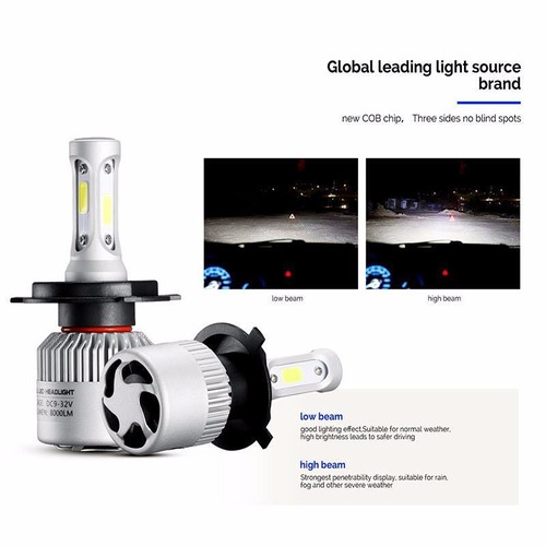 kit luces led cree peugeot 206 16.000 lumenes promo