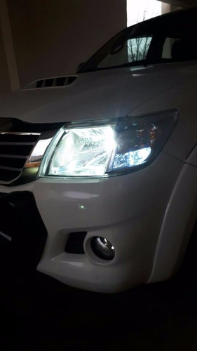 kit luces led cree toyota hilux sw4 16.000 lumenes promo