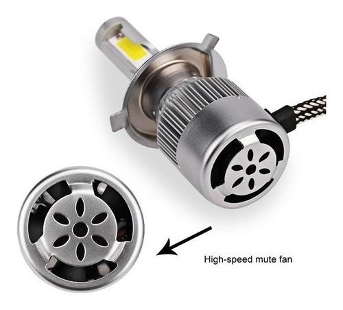 kit luces led para auto c6 h1 h3 h4 h7 h11 9005 9006 880
