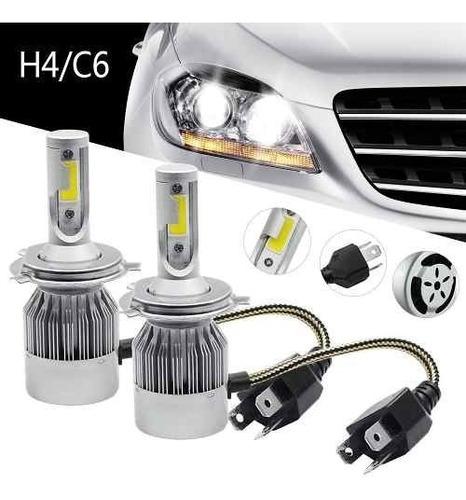 kit luces led para auto h4 look xenon