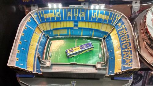 kit luces led para maqueta estadios 3d!! cancha de boca