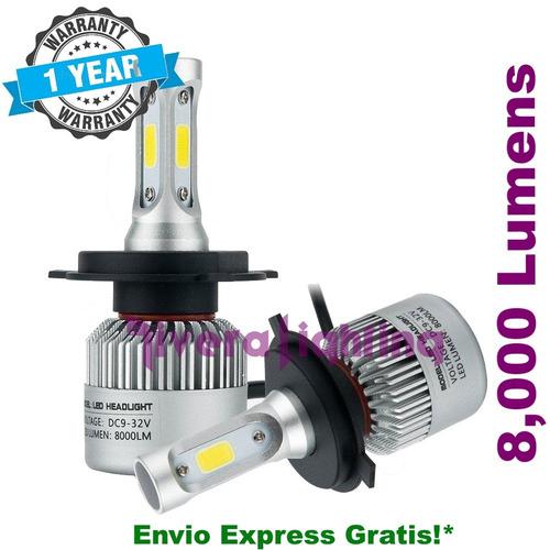 kit luces led tipo xenon hid 9007 a/b nissan xterra 2006