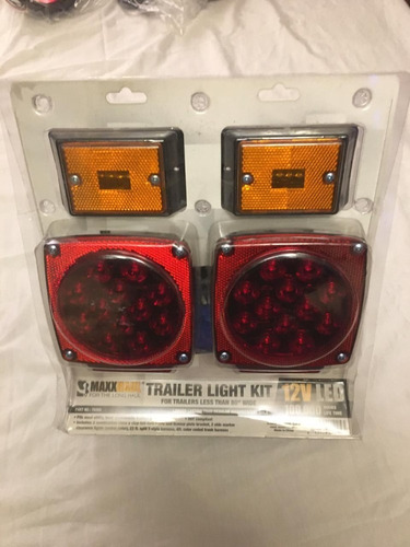 kit luces led y accesorios trailers