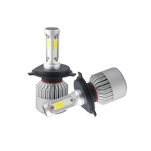 kit luces para auto led s2 h4 8000lm