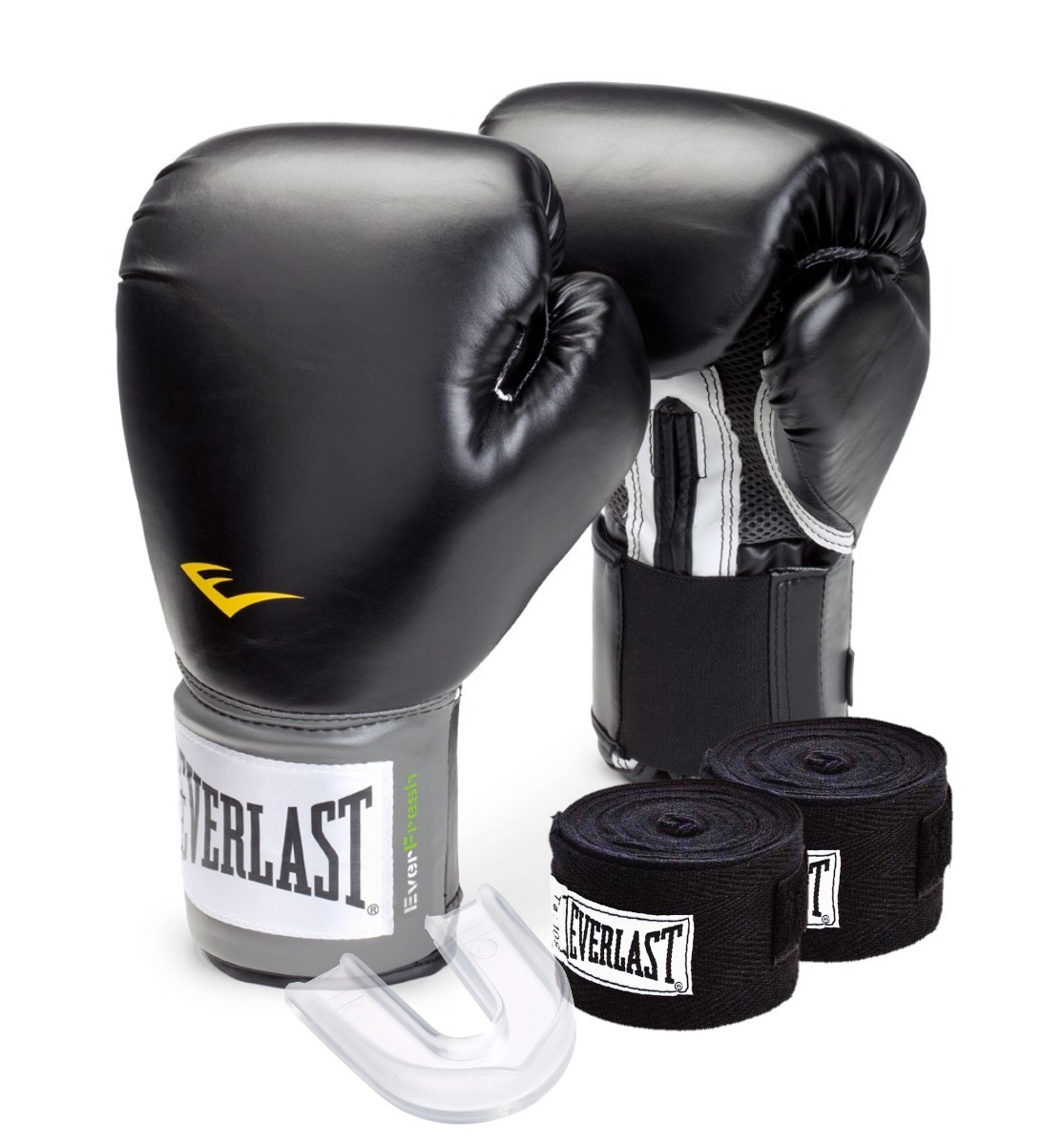 4daf50ca4 kit luva boxe   muay thai - training everlast - preto. Carregando zoom.
