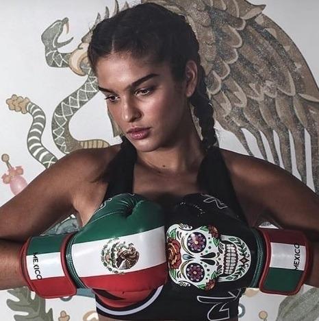48cae0022 Kit Luva Naja Extreme Boxe Muay Thai Países México - R  129