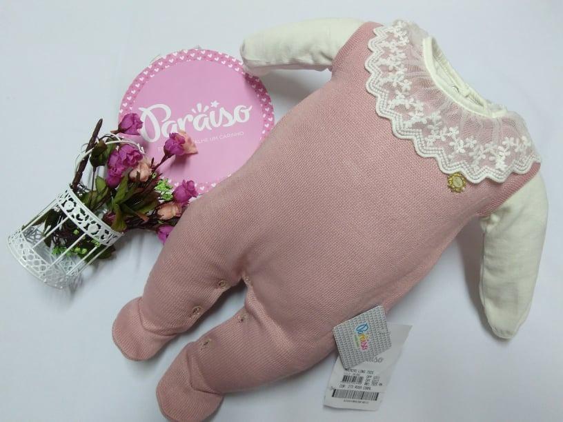 b97be7c240584 kit macacão + body plush bebe menina paraiso luxo num 7925. Carregando zoom.