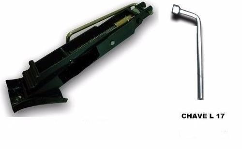 kit macaco joelho com chave de roda 17