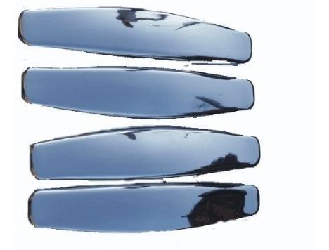 kit maçaneta cromada externa renault sandero