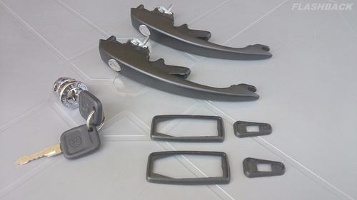 kit maçanetas/cilindros fusca após 1977/itamar (mesma chave)