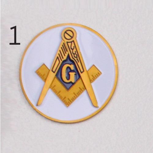 6a750ead7f93f3 Kit Maçom Para Presente (emblema,pin E Prendedor De Gravata)