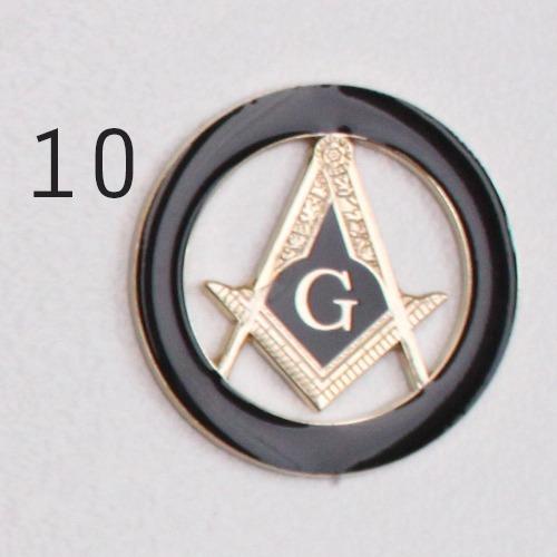707b856800d06e Kit Maçom Para Presente(emblema/pin E Prendedor De Gravata)