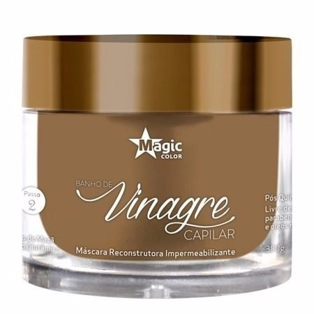 kit magic color vinagre capilar estabilizante + mascara