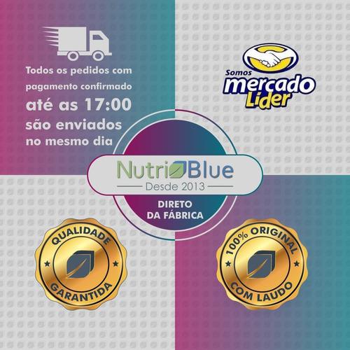 kit magnésio dimalato nutri blue promoção leve 4 frascos