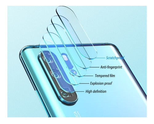 kit magnetico protector huawei p30 pro + vidrio 6d + camara