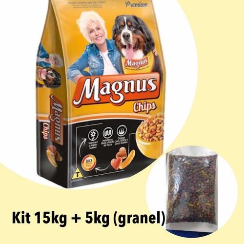 kit magnus chips 15kg + 5kg (à granel)