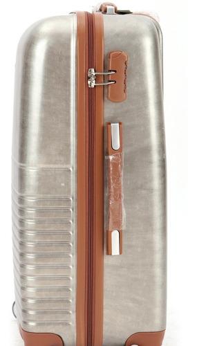 kit malas de viagem rígida em policarbonato com 3 peça 360°