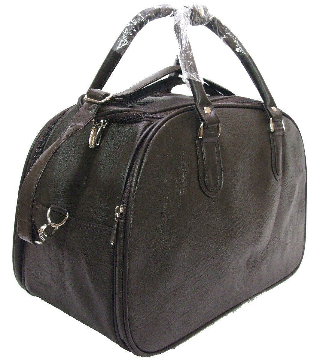 7949af08f5c37 kit malas viagem bolsa masculina grande couro resistente. Carregando zoom.