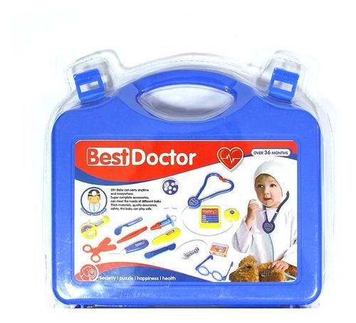 kit maleta doctor niños niñas juguete medicó / n ofertas