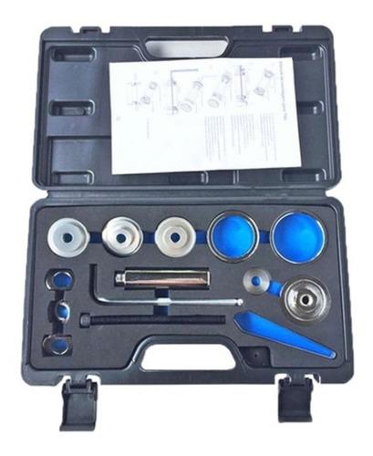 kit maleta ferramenta extrator press fit 14 peças wg sports