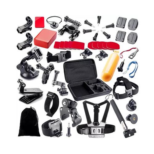 kit maleta gopro 51 accesorios camara deportes envio gratis