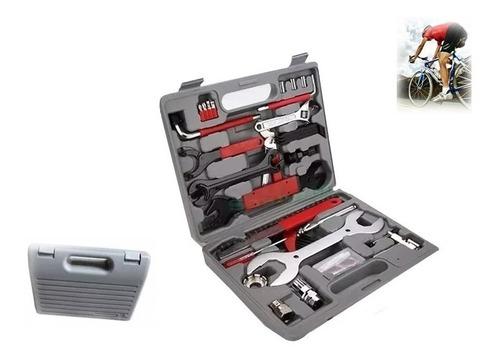 kit maleta herramienta para reparacion de bicicleta