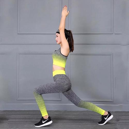kit malhação fitness blusa calça ginastica academia 2780