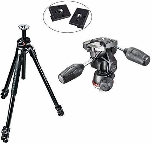 kit manfrotto mk290xta3-3wus 290 xtra de 3 vías 2 placas