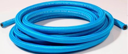 kit mangueira 5mm injeção eletronica 1,5 mt combustivel azul