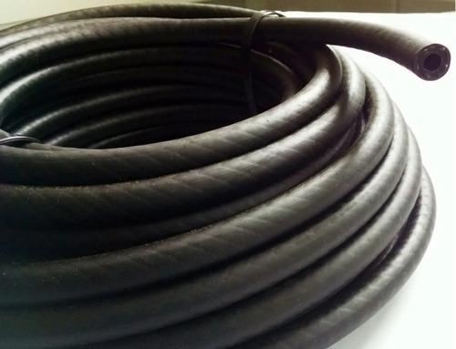 kit mangueira 5mm injeção eletronica 25 mt combustivel preta