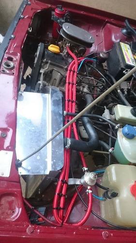 kit mangueira 6mm 1/4 injeção eletronica 25 mt cash tank