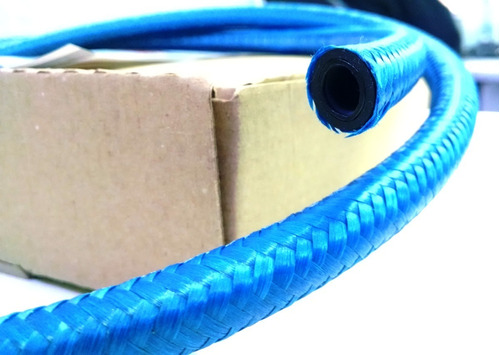 kit mangueira 6mm injeção eletronica 1,5 mt combustivel azul
