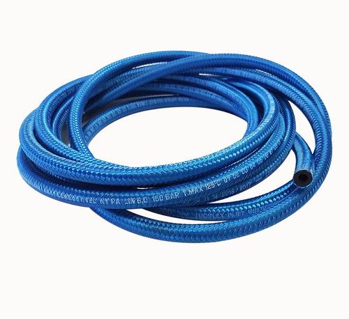 kit mangueira 7mm injeção eletronica 10 mt combustivel azul