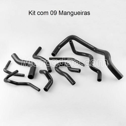kit mangueiras silicone honda civic 92 00 at / mt (09 peças)