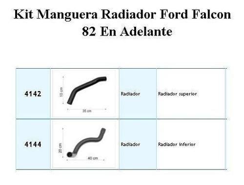 kit manguera radiador ford falcon 82 en adelante 4142 4144
