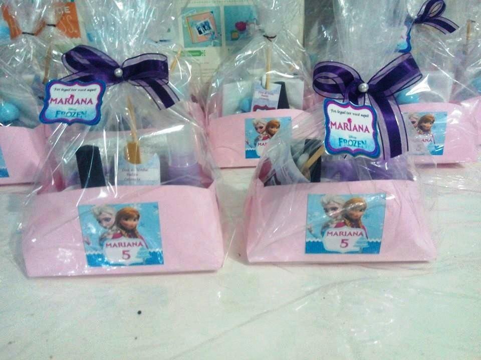 Kit Manicure Frozen Lembrancinha Kit Com 10 R 100 00 Em Mercado Livre